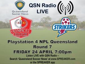 QSN Radio Rd 7 OLY v BS